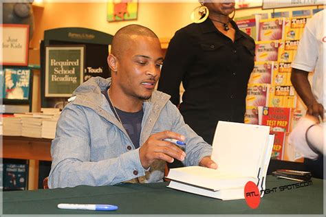 T.i. Book Signing At Barnes & Nobles