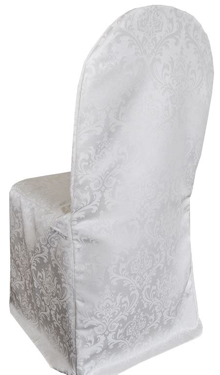 damask jacquard skirt chair covers weddings
