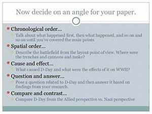 Contoh Essay Chronological Order Chronological Order Essay Papers