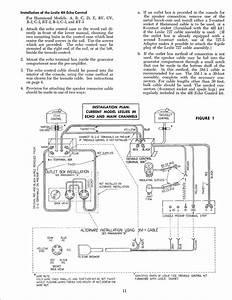 Leslie Speaker 122  122rv Owner U0026 39 S Manual