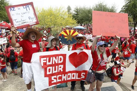 Teacher Strike In Arizona, Colorado Continues For Second Day  Las Vegas Reviewjournal