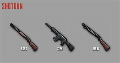 Pubg Mobile Shotgun Senjata Weapon Stats Yang