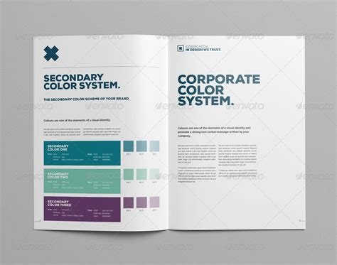 elite corporate design manual guide  pages  egotype