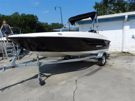 Element Boats For Sale by 2016 Used Bayliner 160 Element Bay Boat For Sale