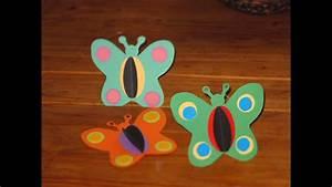 Schmetterlinge Basteln Zum Aufhängen : schmetterlinge selber basteln deko f r kinder youtube ~ Watch28wear.com Haus und Dekorationen