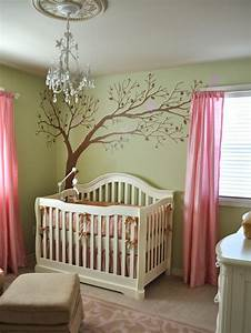 15 easy updates for kids39 rooms nurseries trees and With beautiful pink and green wall decals