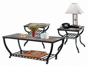 ashley furniture antigo 3pc casters coffee table set the With antigo coffee table