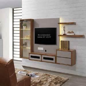 modern design wall hanging wood tv cabinet living room
