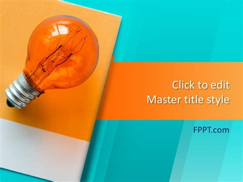 Free Lamp Ideas PowerPoint Template - Free PowerPoint ...