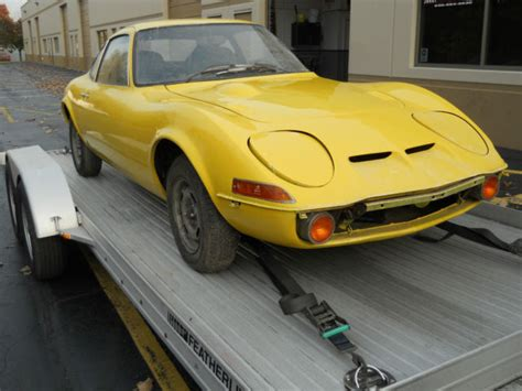 Buick Opel Gt by Opel Gt 1970 No Rust In Heated Storage For 20