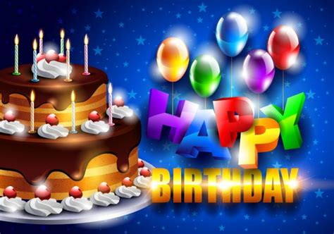 Free Happy Birthday Picture by Free Vector Graphics 187 Happy Birthday Vector
