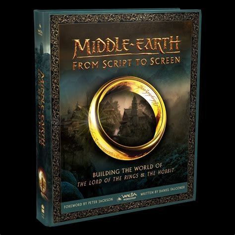 0007544103 middle earth from script to screen new lord of the rings hobbit book middle earth from