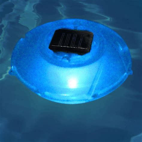 swimline color changing floating solar rainbow light