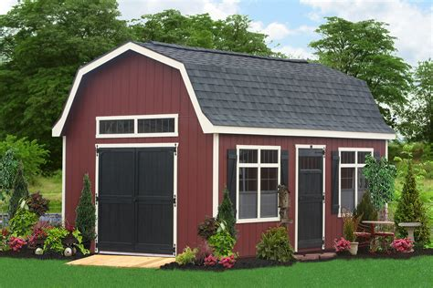 Buy Large Outdoor Sheds From The Amish In Pa