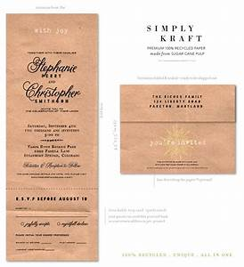send n sealed wedding invitations on 100 recycled paper With wedding invitations recycled brown paper