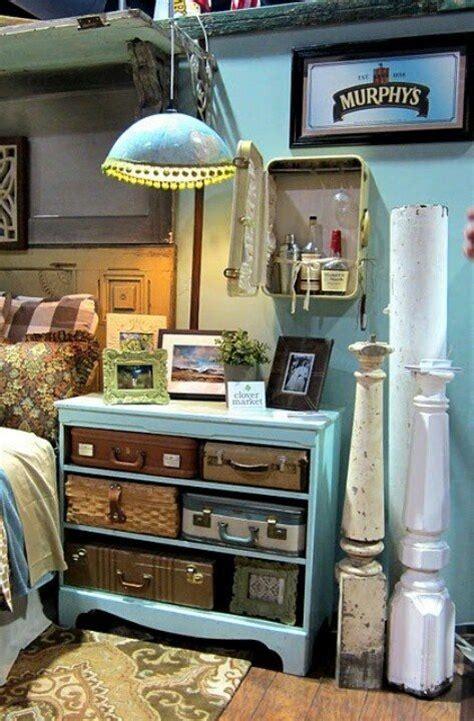 reuse  suitcases  furniture ideas  home decoration