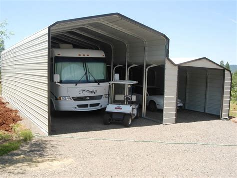 Rv Carport by Metal Rv Storage And Carports