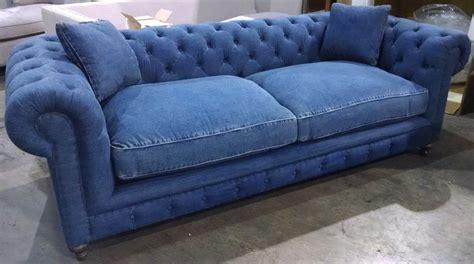 blue jean denim sofa oxford sofa 100 blue denim cotton down cushions 8 way