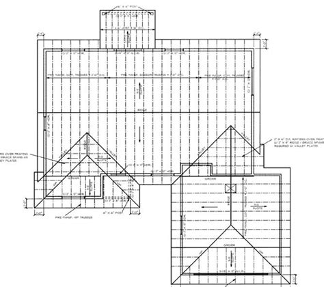roof layouts the basics of reading blueprints scale