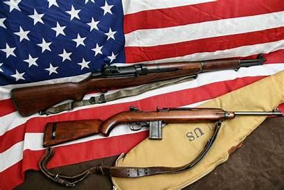 M1 Garand Carbine Flag Rifle Loading Self