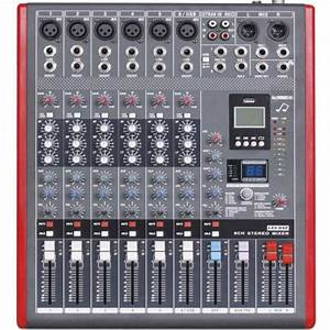 Professional 6 Channel Usb Mixing Console Studio Audio