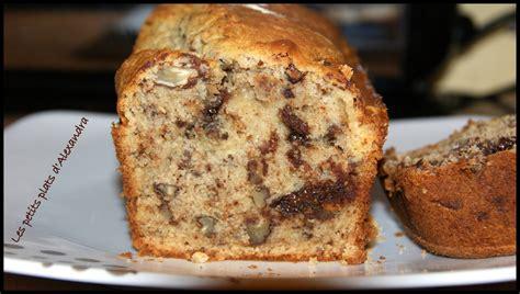 dessert a la banane marmiton cake banane noix de p 233 can et chocolat les petits plats d alexandra