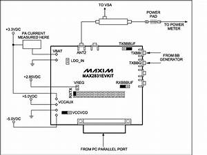 Max2831 Power Amplifier  Pa  Output Power And Bias