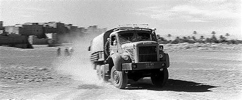 siege roulant berliet missions tchad et ténéré camions land rover