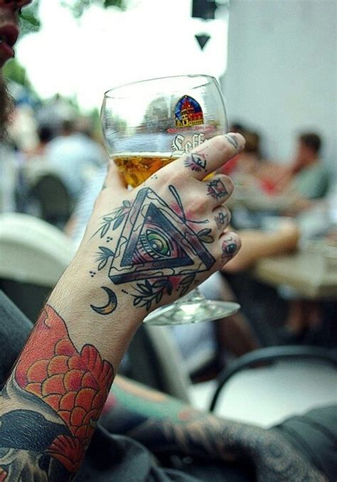 creative hand tattoo designs  vogue  odd stuff magazine