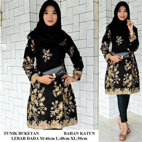 Tunik Bunga jual tunik batik gotic bunga simple elegan blanja