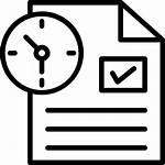 Icon Task Management Report Icons Planning Productivity