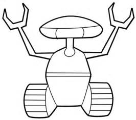 crawler robot coloring page  printable coloring pages