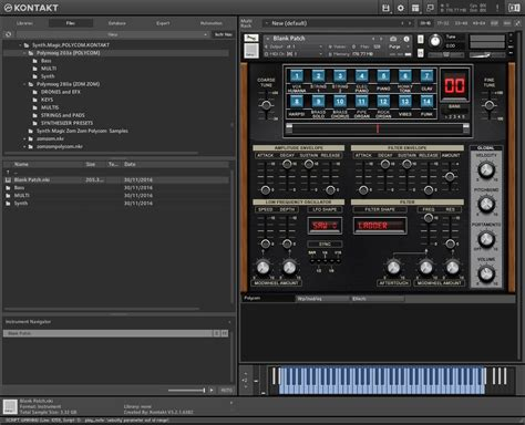 Music visualizer, vj software, live video mixer, music video creator, and much more. Synth Magic - POLYCOM (KONTAKT) - VSTorrent