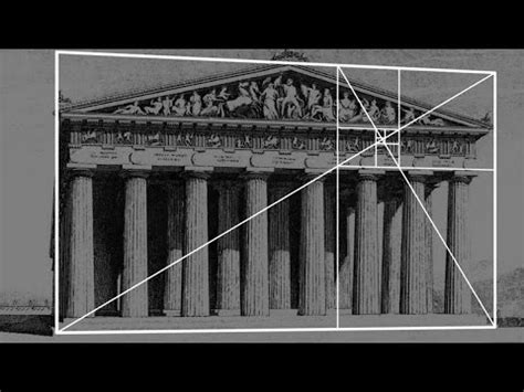 golden rectangle architecture the fibonacci sequence the golden rectangle and architecture arch student com