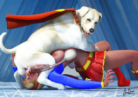 Supergirl Throat Knotted By Krypto 3d By Scatwoman