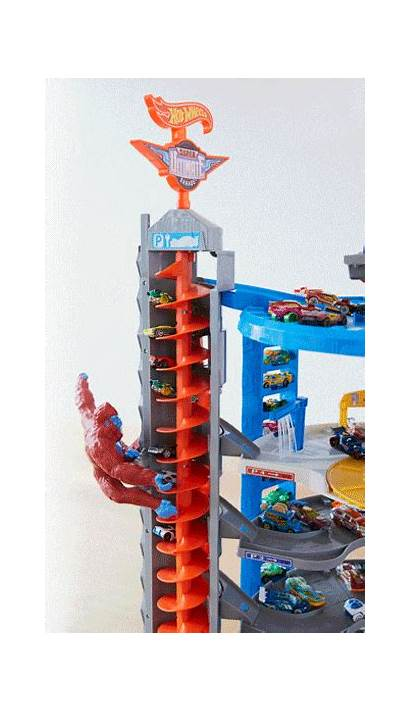 Wheels Garage Ultimate Super Gorilla Lift Play