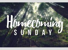 Homecoming Sunday St Luke United Methodist Church