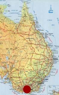 East Australia Map