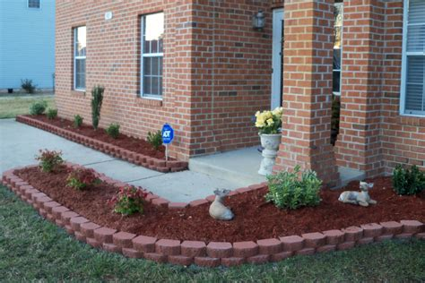 brick flower bed design ideas bedding sets