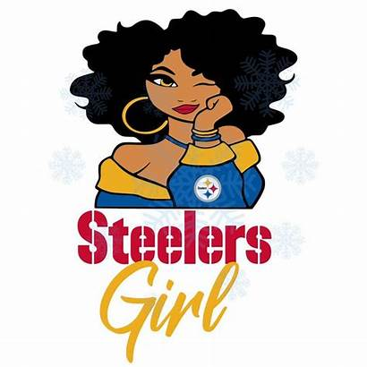 Steelers Pittsburgh Svg Football Nfl Cricut Afro
