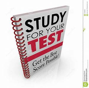 Study For Your Test Book Cover Title Best Grade Score Quiz