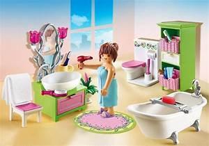 salle de bains et baignoire 5307 playmobilr france With modele plan de maison 3 notice de montage playmobil 5303 maison traditionnelle