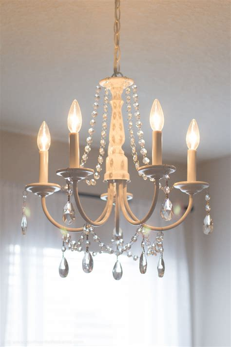 diy chandelier easy tutorial