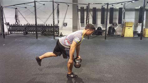 kettlebell leg movements benefits single deadlift balance core common most chain je