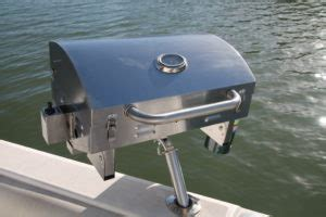 Boat Grill Holder by Boat Grill Stainless Steel Marine Grill Mounts In Fishing
