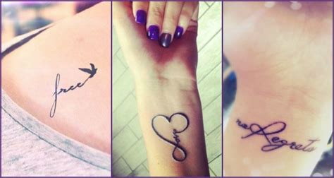 35+ Spectacular One Word Tattoo Designs You Will Love To