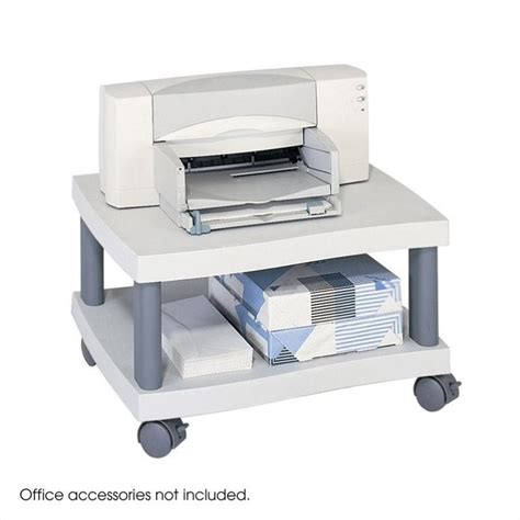 Underdesk Printer Stand In Gray 1861gr