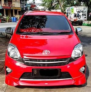 Toyota Agya Trd Mt Manual 2015 Merah Mobil Mulus Sekali