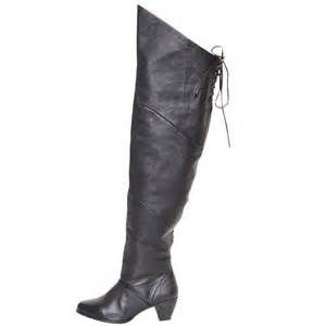 womens boots no heel pleaser maiden 8828 2 quot heel thigh high boot womens shoes no zipper ebay