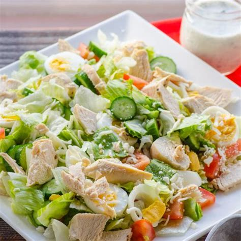 chef salad healthy chef salad recipe